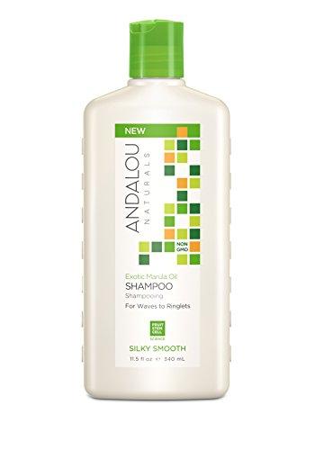 Andalou Naturals   Exotic Marula Oil Silky Smooth Shampoo   1 x 340 ml
