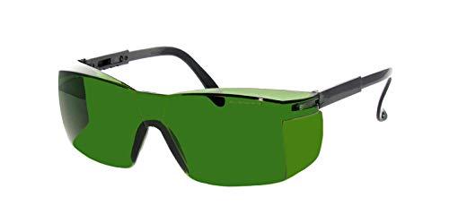 Rainbow safety Gafas Protección para Depilación IPl y HPL Accesorios Luz Pulsada Intensa 190-1800nm Filtro F4 (RS-IPL1)