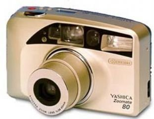 Yashica Zoomate 80 135 mm cámara