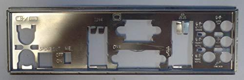 ASUS P5Q-EM DO Blende - Slotblech - IO Shield #29408