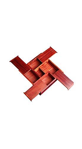 TYZP Caja de Madera de sándalo para joyería de Escritorio, Joyas, Relojes, Joyas, Joyas, Joyas, Tesoros, Joyas, Jade, Caja de Almacenamiento