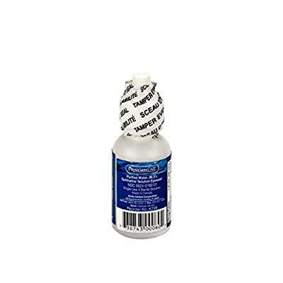 7-008 Eyewash Solution, 1 Fl Oz. Bottle from First Aid Only