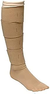 Circaid Juxta Lite Short Legging with Anklets, Large Full Calf, 28cm by Circaid
