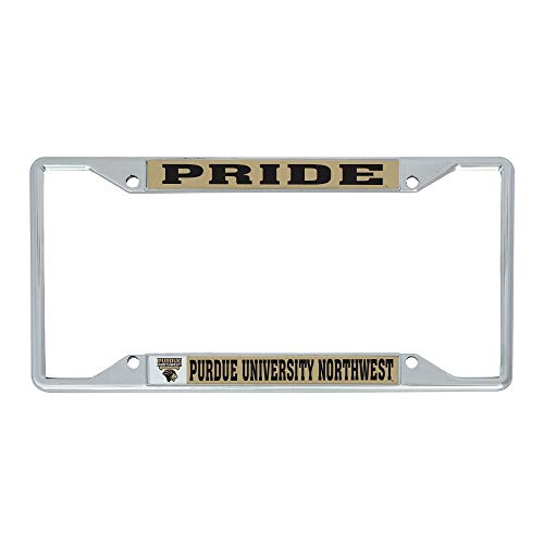 Desert Cactus Purdue University Northwest PNW Pride NCAA Metal License Plate Frame for Front or Back of Car Officially Licensed (Mascot)