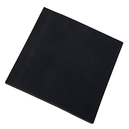 Silicone Rubber Sheet,Heat Resistant, Heavy Duty,High Grade 60A,12 x12 Inch, 1/8 Inch Thickness for DIY Gaskets, Pads, Seals, Crafts, Flooring,Cushioning of Anti-Vibration, Anti-Slip
