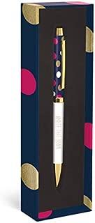 Navy Dot Fashion Pen
