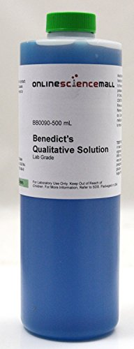 The Curated Chemical Collection Qualitative Benedicts Solution 500mL