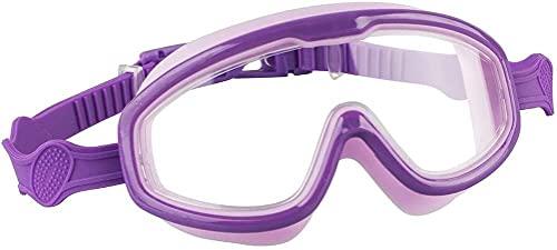 CYANQ Gafas de natación para niños, Gafas de natación para niños y niñas, Protección UV, Antivaho, Protección contra Fugas, Gafas de Buceo