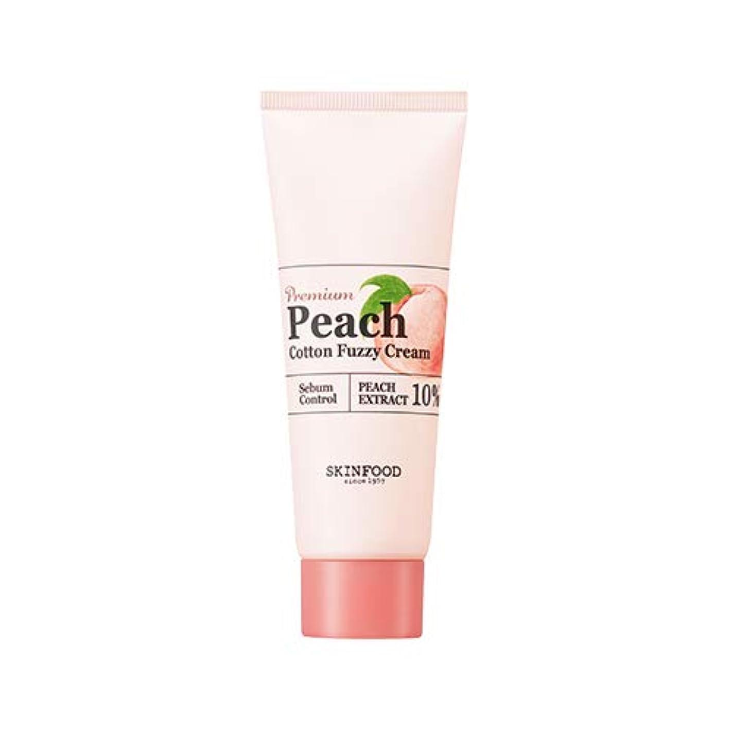 オフェンスひどいスティーブンソンSkinfood プレミアムピーチコットンファジークリーム/Premium Peach Cotton Fuzzy Cream 65ml [並行輸入品]