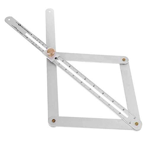 Kitchnexus Lineal Winkel Winkelschmiege Professionelle Winkelmesser Aluminiumlegierung Messwerkzeug