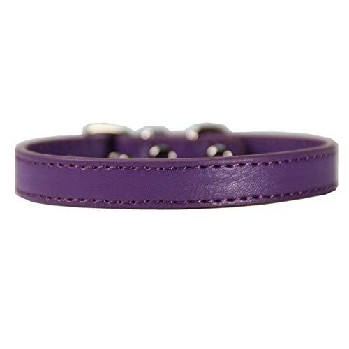 DC CLOUD Collars Perro PequeñO Collars Perro Grande Collares De Perro Collar De Perro Collares para Perros Collares para Perros Grandes Small,Purple