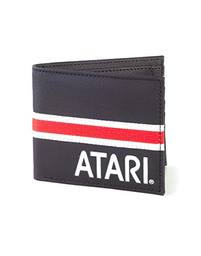Atari Bifold Money Wallet with Red and White Stripe