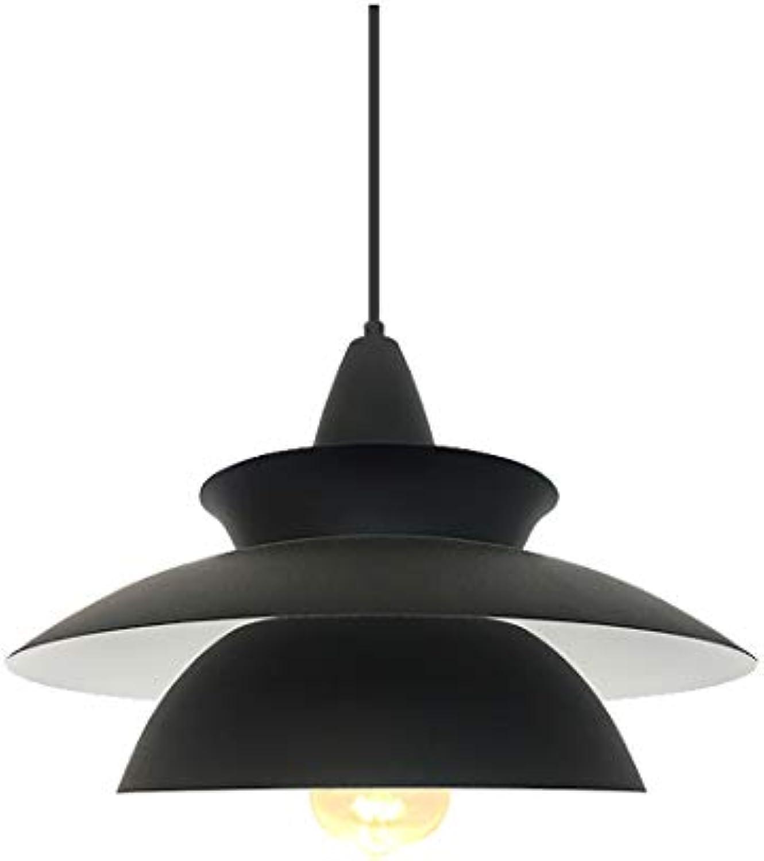 Single Head Aluminium Pendelleuchte LED-Decken LightIndoor-Beleuchtungskrper Dekorative Lichter für Wohnzimmer Schlafzimmer-schwarz