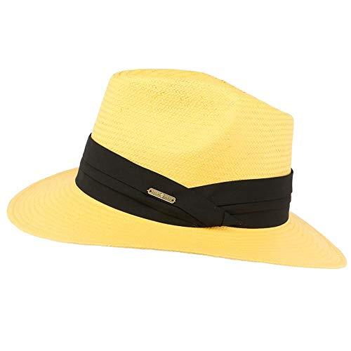 Léon montane Chapeau de Paille Jaune Théo - Mixte