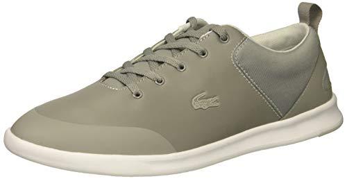 Lacoste Women's Avenir Sneaker Grey White, 9.5 Medium US