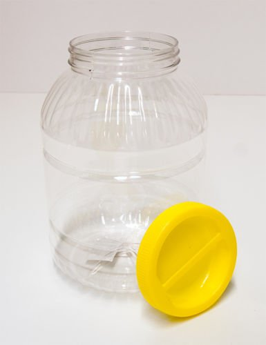 DOSE 5x2L BOX WEITHALS KUNSTSTOFF BEHÄLTER GEFÄSS CAN TIN CUP PLASTIC 5 Stück