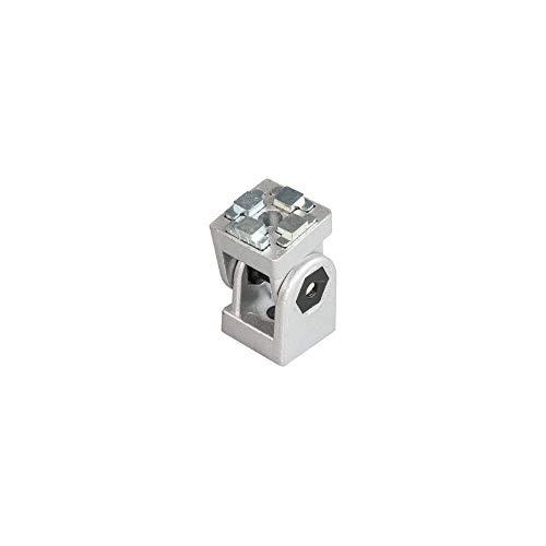Einstellbarer Winkelverbinder Winkel Gelenk 3030 30x30 mit Zubehör Für 30 mm Aluminium Konstruktionsprofile Systemprofile