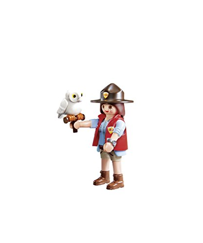 Playmobil Playmofriends- Guarda Forestal Playset de Figuras de Juguete, Multicolor, 4,5 x 16 x 12 cm (9337)