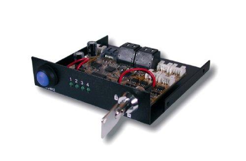 Exsys® Umschalter von 1 S-ATA auf 4 S-ATA Festplatten