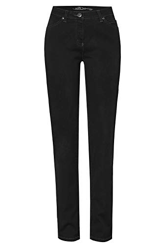 TONI Damen 5-Pocket-Jeans »Perfect Shape« mit Shaping-Effekt an Bauch und Po 42 schwarz
