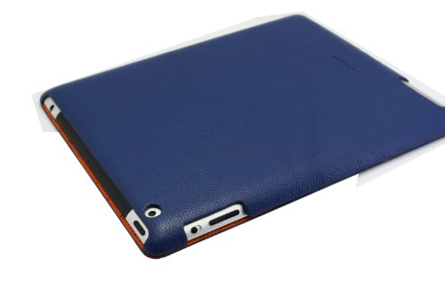 Melkco Premium lederen hoes Smart Cover voor Apple iPad 2