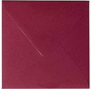 feuchtklebend Grammatura 120/G//M/² karten24plus 50/Buste 15,0/x 15,0/cm 150/X 150/mm Verde abete chiusura