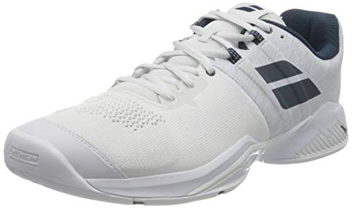 Babolat Propulse Blast All Court Shoe Men White, Zapatillas de Tenis Hombre, Color Blanco, 46 EU
