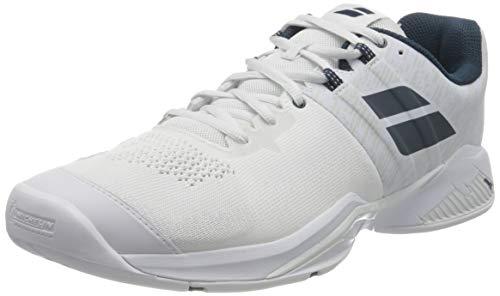 Babolat Propulse Blast All Court Shoe Men White, Zapatillas de Tenis Hombre,...
