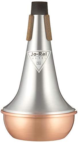 Jo Ral TRB-1C Copper Tenor Trombone Straight Mute