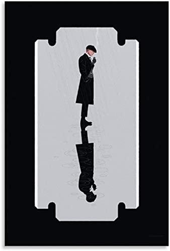 Jigsaw Puzzle da 500 Pezzi in Legno Peaky Blinders Pop Drama Serie TV drammatica Britannica Puzzle Giocattolo Decompressivo Intellettuale Educativo 200 Piece 13.7x9.8inch(35x25cm) Senza Cornice