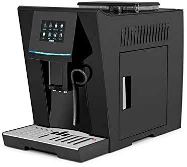 Kolice w pełni automatyczny ekspres do kawy cappuccino inteligentny ekspres do kawy z ekranem dotykowym 19 barów ze spieniaczem mleka do espresso, latte, amercino