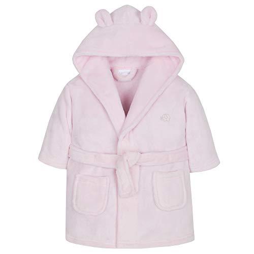 BABY TOWN Babytown Unisex Newborn Infants Hooded Snuggle Fleece Jumpsuit Sizes 0-12 Months