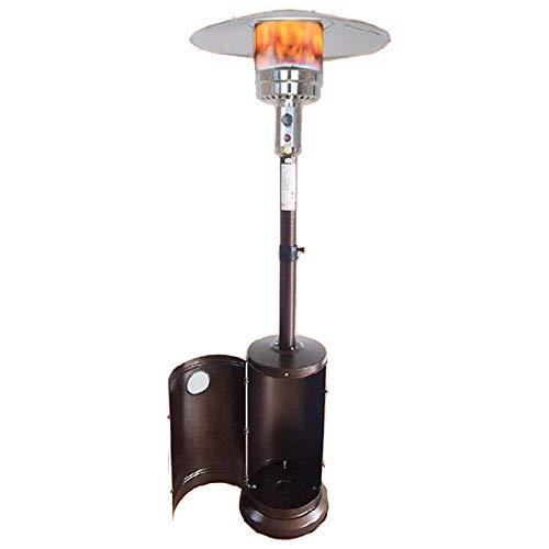 YILANJUN Calefactor de Terraza de Sombrilla | de Gas Licuado/Gas Natural | Calentador de Patio | Calefaccion Independiente