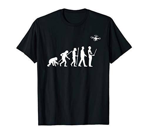 Quadcopter T-Shirt Funny Drohne FPV Shirt Evolution T-Shirt
