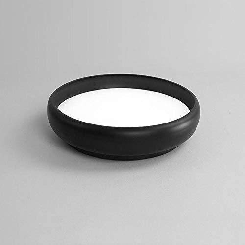Deckenlampe Deckenbeleuchtung Deckenstrahler Neues Produkt!Kreative Tassen Deckenleuchten.Schwarz/Weiß-StudienleuchtenRunde Restaurantleuchten D45Cm-B_D45Cm_24W