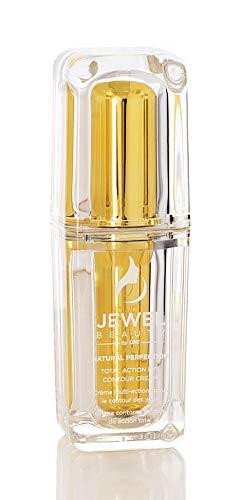 Crème contour des yeux d'action Total JEWEL BEAUTY Natural Perfection (anti-âge, anti-cernes, anti-sacs, hydratant et nourrissant), 15 ml 0.5 FL OZ