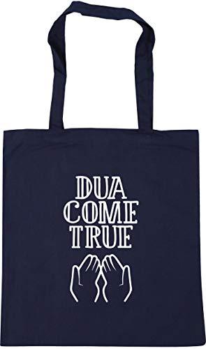 Hippowarehouse DUA Come True Tote Shopping Gym Beach Bag 42cm x38cm, 10 litres