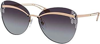 BvlgariCondotti Grey gradient Butterfly Ladies Sunglasses