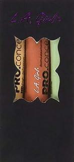 L. A. Girl Pro Conceal Set Orange, Yellow, Green Correctors