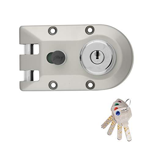 Godrej Locking Solutions and Systems Locks Ultra XL+ Vertibolt 2C Satin Nickel