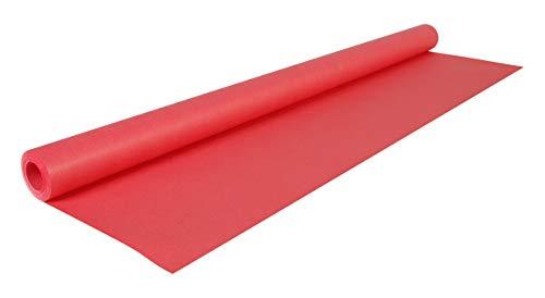 Clairefontaine Rotolo Kraft colorato, 10 x 0,70 m, rosso