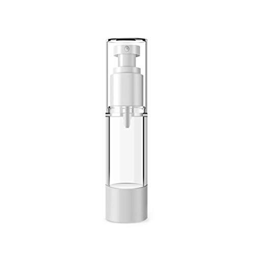 Arbougstg - Botellas de pulverización sin aire, 3 unidades, recipientes vacíos de viaje, pulverizador fino, pulverizador de boca plana para aceites esenciales y líquidos cosméticos