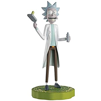 Rick and Morty Collection | Rick Sanchez Figurine with Magazine Issue 1 by Eaglemoss Hero Collector