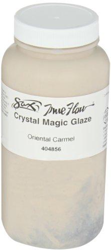 Sax True Flow Crystal Magic Glaze, Oriental Carmel, 1 Pint