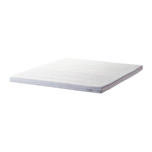 IKEA TUSSÖY Matratzenauflage in weiß; (140x200cm)