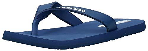 adidas Eezay Flip Flop, Chaussures de Plage et Piscine Homme - Bleu (Tech Indigo/Ftwr White/Tech Indigo) - 44 1/2 EU