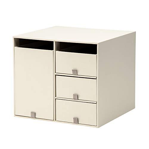 プラス 収納ボックス リビングポストIIY4S クリームホワイト LP-201Y4-S 85-653