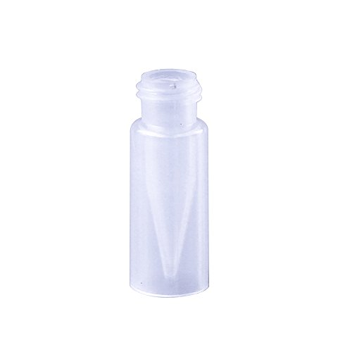 ALWSCI 9 mm Screw Top Vials with 0.3 mL Fused Inserts, Polypropylene, 100 pcs/pk
