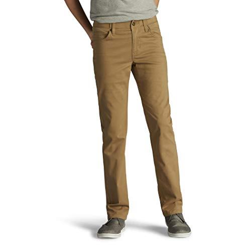 Lee boys Performance Series Extreme Comfort Slim Fit Jean,Original Khaki,16 Husky