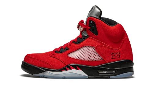 Jordan Hombres Air Jordan 5 Retro DD0587 600 Raging Bull 2021, Rojo, 42.5 EU